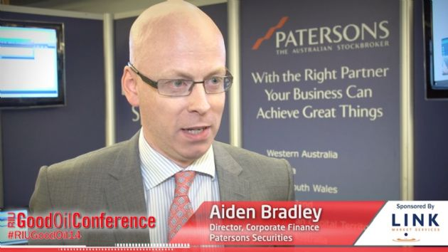 VIDEO PPR-TV: Patersons Securities Director Aiden Bradley on Oil and Gas Outlook Positive
