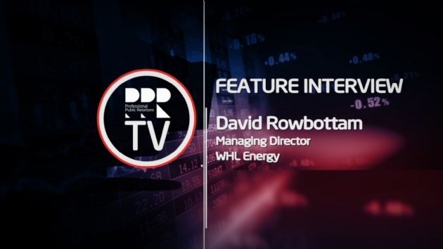 PPR-TV Video Interview: WHL Energy MD (ASX:WHN) David Rowbottam Provides Company Update