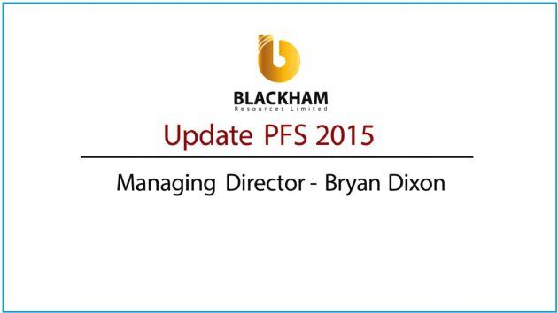 Blackham Resources Ltd (ASX:BLK) Updates Pre-Feasibility Study for Matilda Gold Project