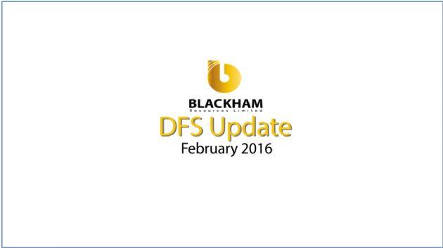 Blackham Resources Limited (ASX:BLK) Matilda Feasibility Confirms 2016 Production